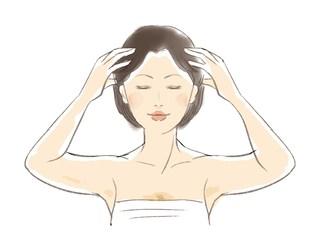 自宅でシャンプーしながら1分でできる若返り頭皮マッサージ法とは?