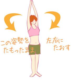 くびれのあるお腹を実現!1日1分簡単お腹痩せエクセサイズ!!
