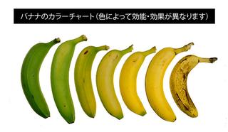 バナナは色によって効能が異なる!?心と体の健康にもっとも良いバナナの食べ時とは!?