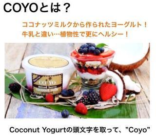 新感覚スイーツ!夏でアイス慣れした体に優しい低糖質ヨーグルトの「COYO(コヨ)」