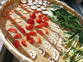 簡単!野菜を干して栄養凝縮の乾物にする方法