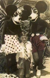 怖〜いミッキーマウス